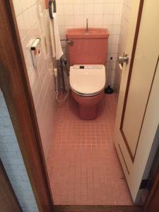 トイレ 1F施工前