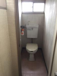 トイレ 2f 施工前